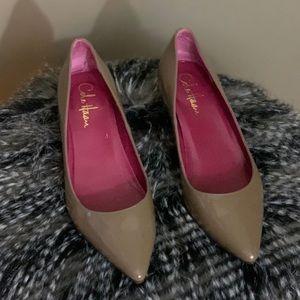 Cole Haan Patent Leather Kitten Heels